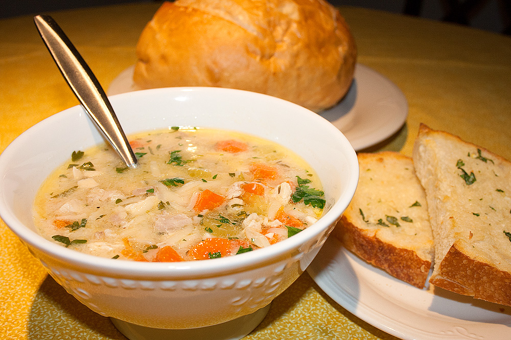 Yum! Chicken Soup with Lemon and Orzo – Yay Baby!