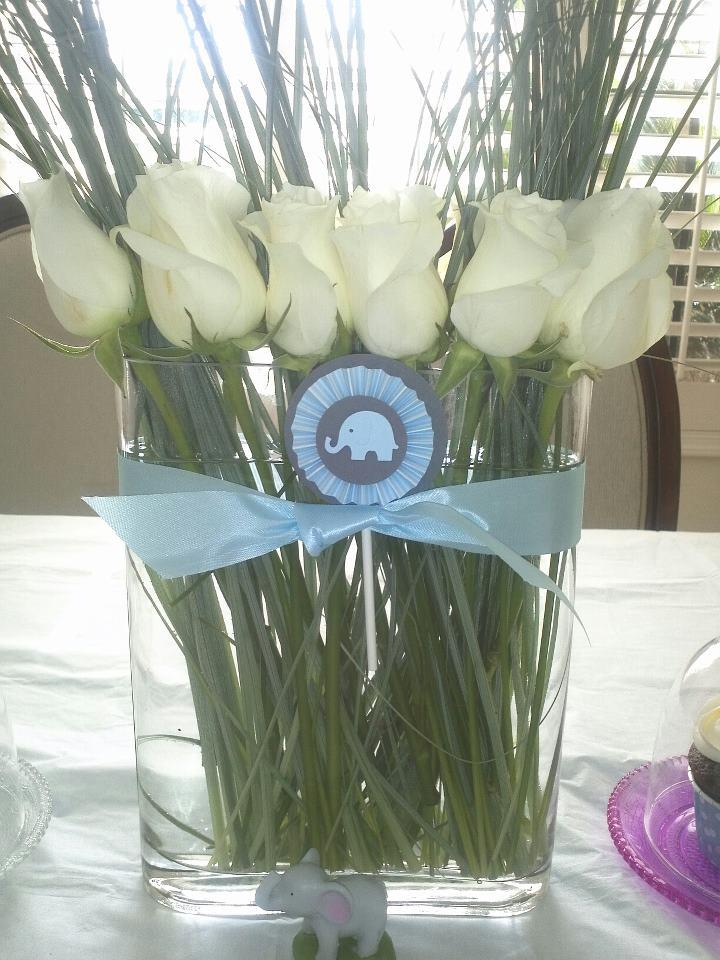 alfa img showing boy baby shower floral arrangements